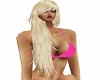 long platinum blonde