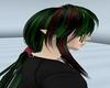 Rin red/green black hair