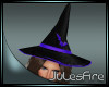 FIRE Witch Hat Purple
