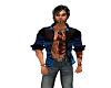 ~KJ~ Blue Open Shirt