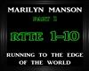 Marilyn Manson~Running 1