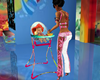 girl baby & chair