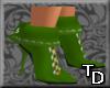 *T Short Boots Green