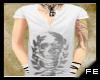 FE skull vneck shirt1