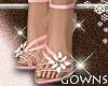 Flower Sandals - Pink