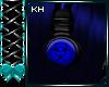 CyberGoth Blu Headphones