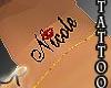 [R]Nicole Neck Tattoo *M