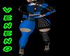Bimbo Rockstar Blue Diva