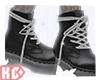 Ko ll Laced boots Black