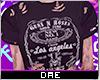 Distressed Guns N' Roses