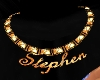 Stephen Gold Necklace