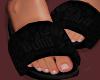 Slipper Puma Black
