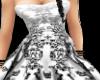 wedding dress (silver)