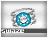 Takeo Aqua Bracelet