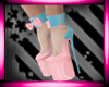 Easter Pink  Boots