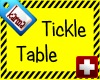 tickle treatment table