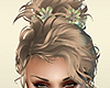 Winter Fairy Updo Hair