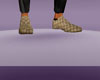 GOLD GG DRESS SHOES