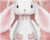 J! Bunny backpack white