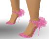 metalic pink shoes