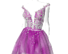 Lilac cocktail dress
