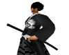 ying yang hakama 1 sword