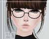 .Black Glasses.