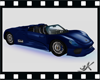 K-animatd porche blue