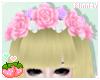 ♡ Roses crown : Pastel