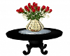 Table with Roses