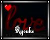 R~ Love Sign
