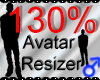 *M* Avatar Scaler 130%