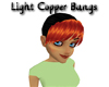 Light Copper Bangs