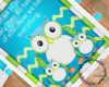 B| Baby Owl art Picture