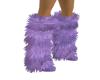 Light Purple Furry Feet