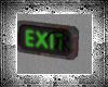 .-  Broken Exit Sign
