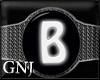 [GNJ] B Wristbands