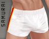 #S Rugby Shorts #White