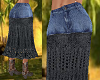 TF* BOHO Buffalo Skirt