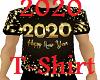 2020 T-Shirt Gold Tee