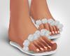 Silver Silks Flipflops