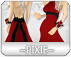 |Px| Red Prom Dress