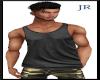 [JR] MuscleTank Black