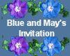 (MR) B and M invite