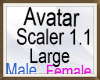 Avatars Scaler Large 1.1