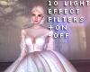 零 10 Light FX Filters