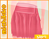 *M Pink pleated Skirt