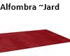 Alfombra granate ~Jard