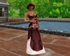 !Em Eve Dusty Rose Gown