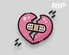 R. Broken heart sign